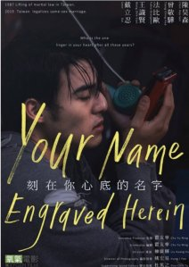 Your Name Engraved Herein Film Poster