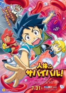 Jintai no Survival Film Poster