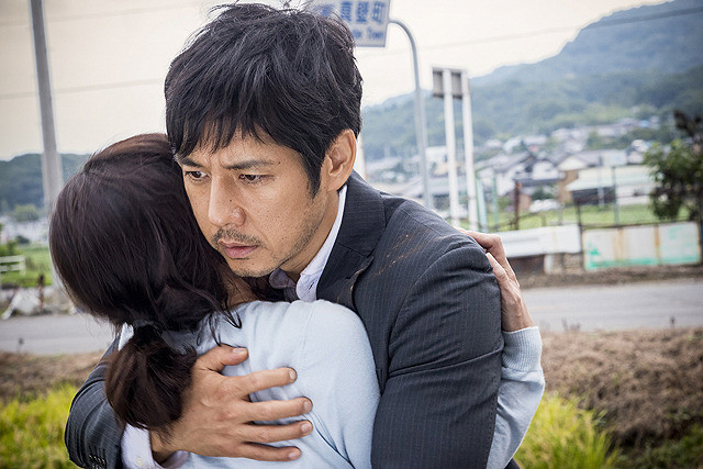 Creepy Film Image Hidetoshi Nishijima and Yuko Takeuchi