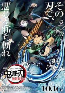 Demon Slayer Kimetsu no Yaiba - The Movie Mugen Train Film Poster