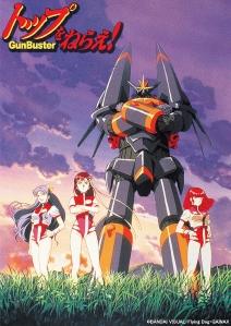 Top wo Nerae! Gunbuster Film Poster