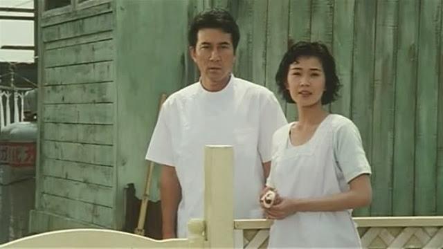 The Eel Film Image Takura (Koji Yakusho) and Keiko (Misa Shimizu)