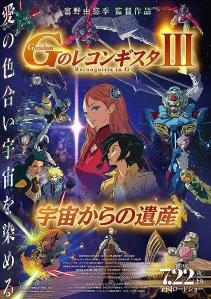 Gundam G no Reconguista Movie III – Uchuu kara no Isan Film Poster