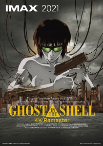 Ghost in the Shell 4K Remaster Imax Poster
